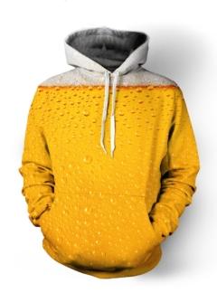Beer Ice cold beer 3D hoodie