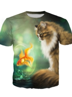 Cats Fish t-shirt