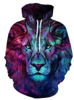 Spiritual Lion 3D hoodie