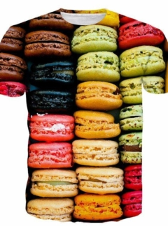 Food colourful macaron