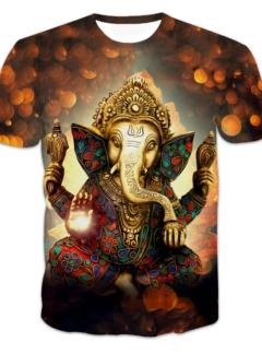 Ganesha 3D Tshirt