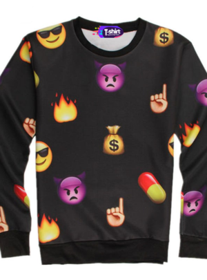 Cute Emoji Sweatshirt