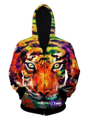 Tiger Art Paint
